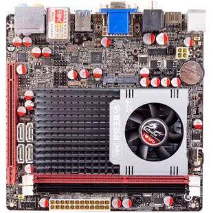 Colorful i AE50 V14 HD Mini ITX HTPC motherboard integrated graphics CPU comes Favorites