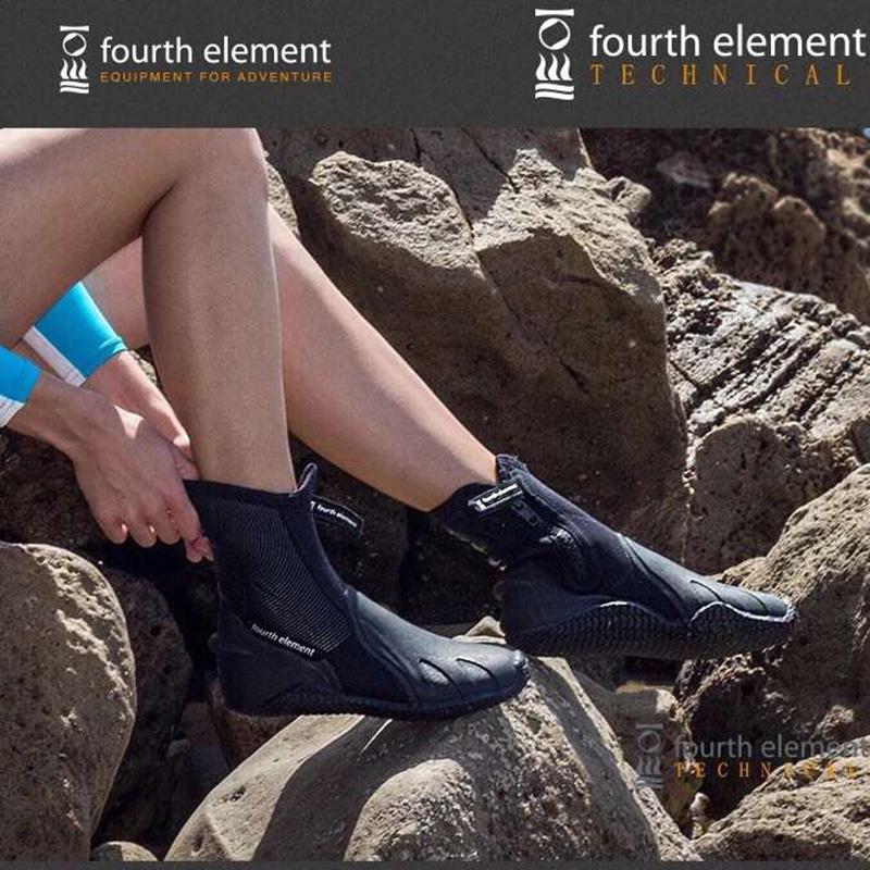 Четвертый элемент Fourth Element Pelagic дайвинг ботинок тонкий 6.5mm высокий берег скрытая пещера скрытая