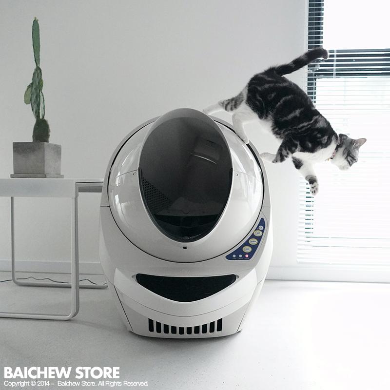 满87.00元可用1元优惠券白猪商店原装进口全自动智能猫厕所