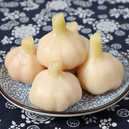 宁波特产象山腌制糖蒜蒜头 糖醋蒜咸菜下饭菜开胃菜500g