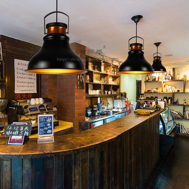 甜品店灯屋复古工业灯具西餐厅艺术吊灯铁艺简约欧式咖啡厅吊灯
