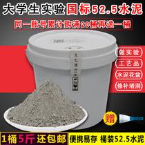 水泥硅酸盐po52.5实验高标号525防水补漏洞快硬早强速干水泥桶装