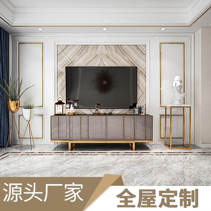 护墙板装饰板实木轻奢客厅欧式围板