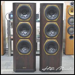 二手英国原产进口天朗708 70周年纪念版 发烧落地箱 8寸同轴音箱