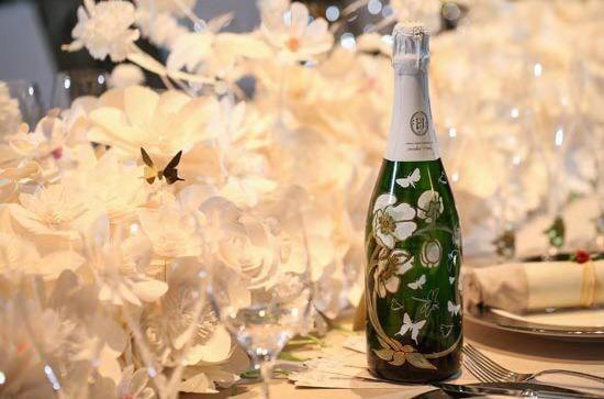 巴黎之花美丽时光2007年份限量版香槟 清新动人 礼盒装
