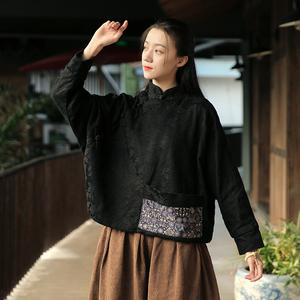 旗袍小上衣矮个子150cm短款新式时尚中国风传统方便改良