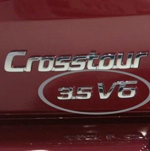 本田歌诗图V6 3.5排量标 3.5车标尾标 后备箱车贴 尾盖标14款AWD