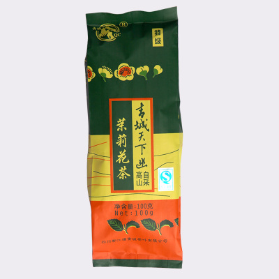 Super special sichuan specialty tea qingcheng mountain, 100 g jasmine tea bags resistance type health tea aroma