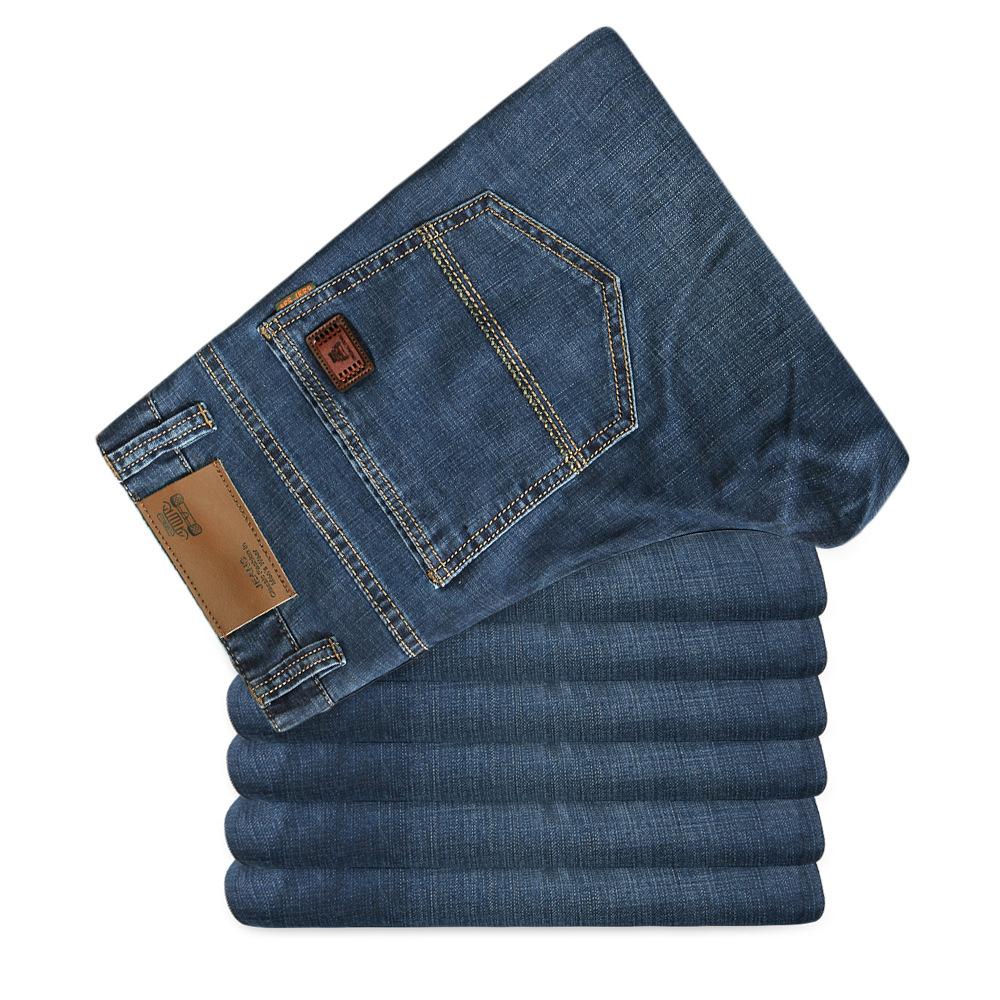 新款男式牛仔裤男装薄款商务弹力牛仔长裤男 XZ1216-CK1083-P35