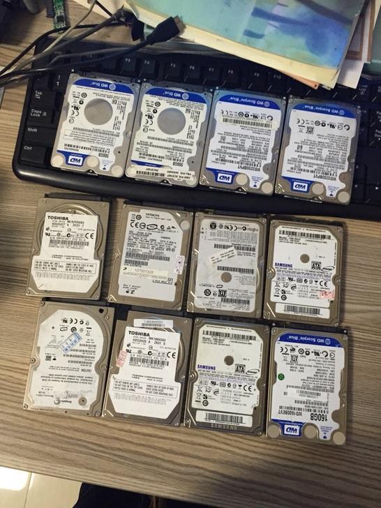 二手拆机笔记本 台式机硬盘SATA串口80G160G250G320G500G1T机械盘