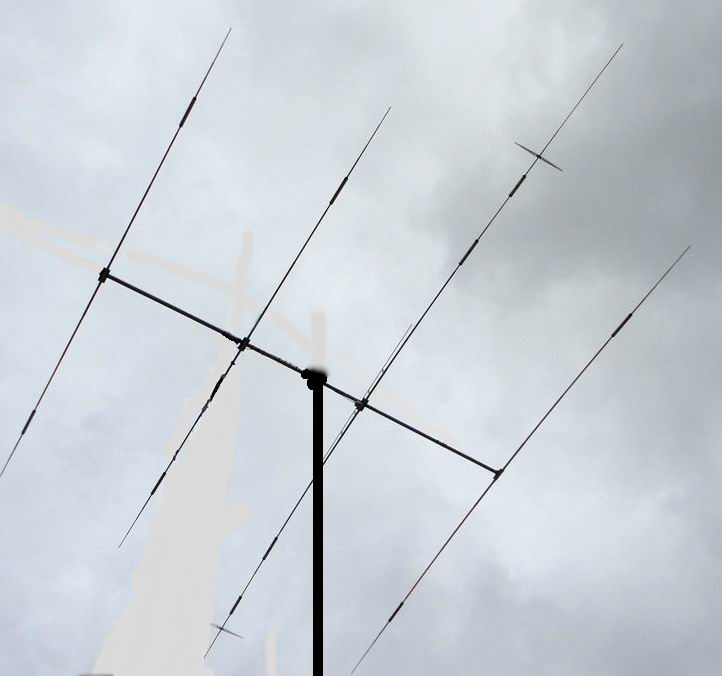 A4DX ++ 5-band shortwave 5 element Yagi antenna , high gain, background  noise is small, the signal Leverage