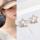 韩国韩版简约精致微镶锆石缺角五角星耳钉耳环气质小星星耳夹耳饰 mini 0
