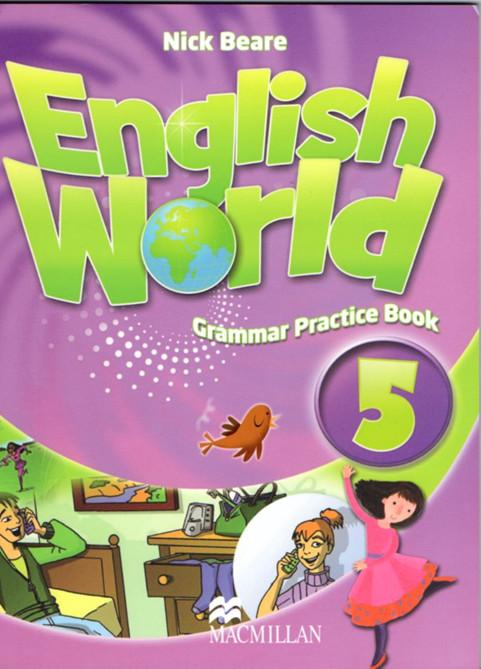 原版进口英式儿童英语教材 少儿英文培训教材 English World GPB5