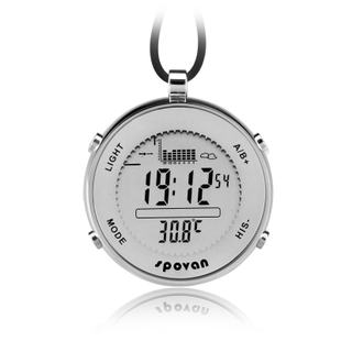 Electronic fishing barometer watch fishing barometer mountaineering table outdoor sports watch altimeter elevation table