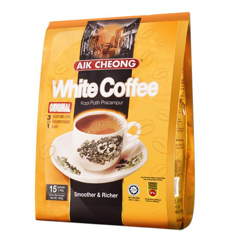 Malaysia original imported Yichang old street original Nanyang three in one coffee 600g package