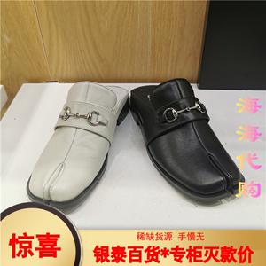 BELLE/百丽 2020春女鞋乐福拖鞋正品国内代购B50U8L1DD U8L1D AH0