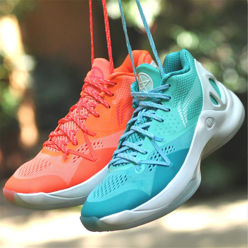 李宁音速5代鸳鸯低帮学生内外场实战减震专业比赛篮球鞋 ABAM021热销87件限时抢购