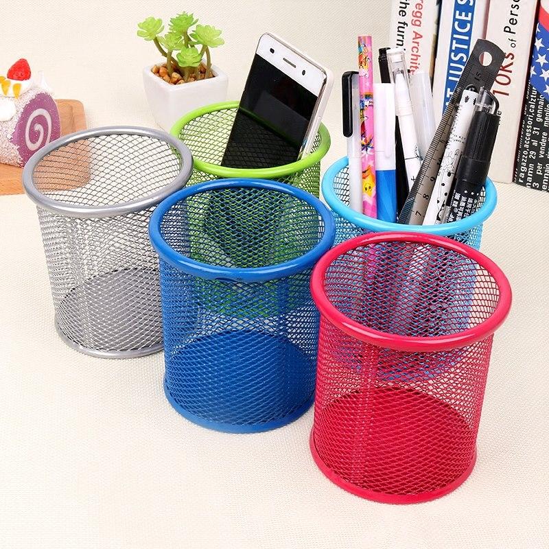 Цвет пирсинг свежий практический многофункциональный железо творческий мода офис студент рабочий стол в коробку пенал бесплатная доставка