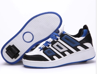Granville Lisieux Hot Heelys W HEELYS Child Adult male and female Heelys roller shoes authentic models manually