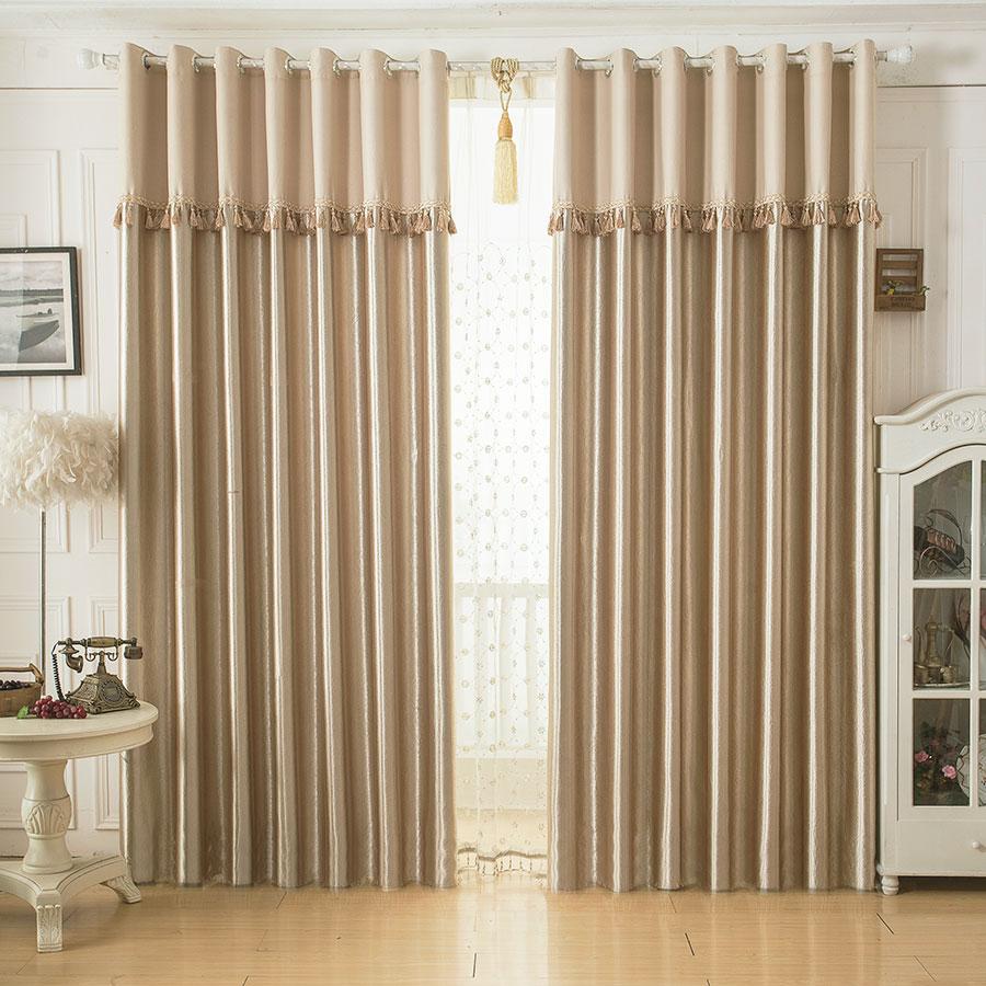 成品遮光窗簾布料臥室 簡約中式風格全遮光定製 包郵