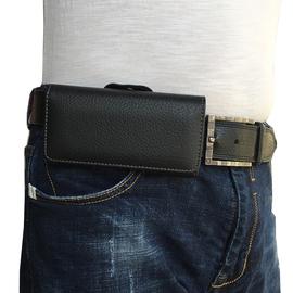 男士挂腰皮套手机包单层横穿皮带腰包绑腰跨挂腰手机套手机袋通用