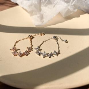 时尚可调节玫瑰金网红食指女潮指环