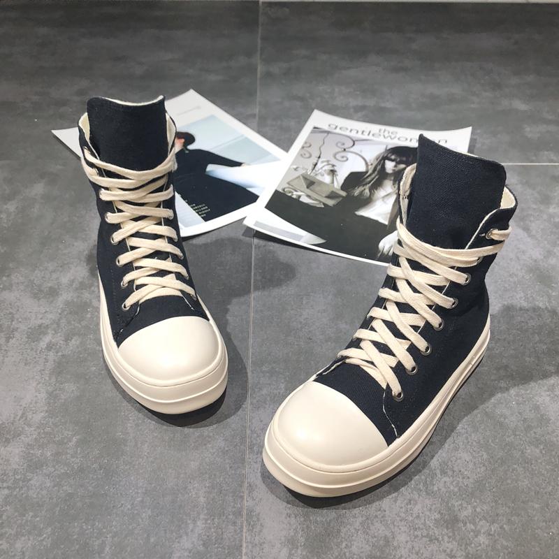 Женские ботинки на платформе / Высокие кроссовки Артикул 555434214623
