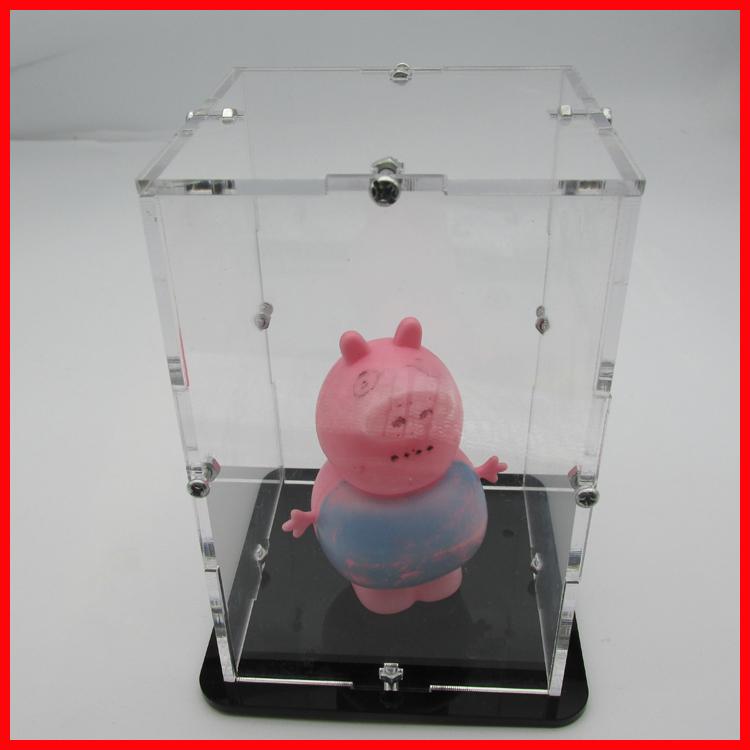 4*4*4光立方外壳 展示盒 展品盒 亚克力高透明展示盒 模型罩