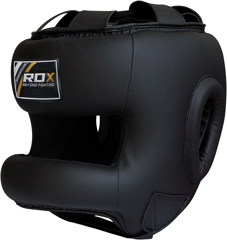 防鼻嘴 泰拳拳击凝胶头盔 钢构横梁 玛雅隐藏皮革 正品 英国 RDX