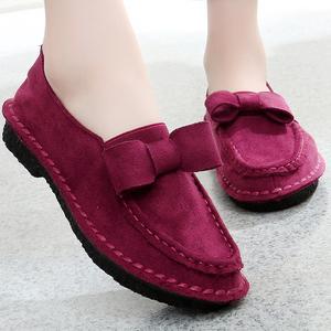 2021夏季薄款老北京布鞋平软底休闲鞋子豆豆女单鞋透气一脚蹬女鞋