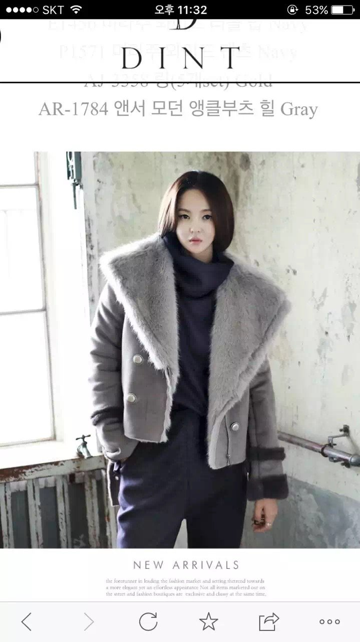 Weluxe fashion suede fur all in one short jacket