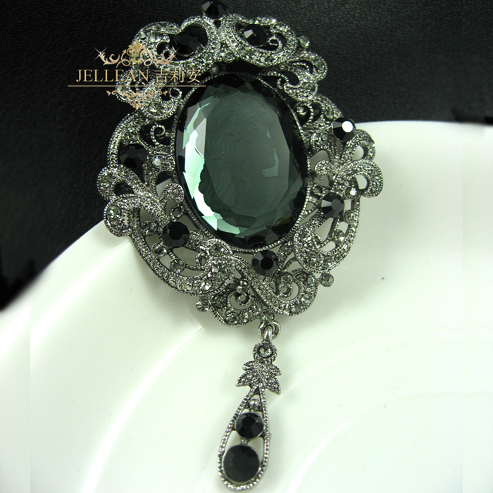Gillian recommends popular fashion retro palace crystal corsage Pendant with dihari brooch brooch jewelry