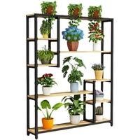 花架子室内多层落地式家用阳台装饰置物架花店展示架客厅铁艺花架