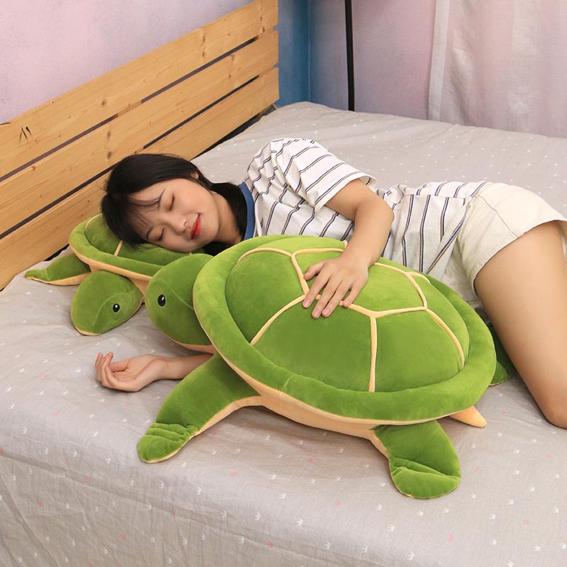可爱乌龟毛绒玩具公仔床上陪你睡觉抱枕超软萌儿童布娃娃女生玩偶券后38.00元