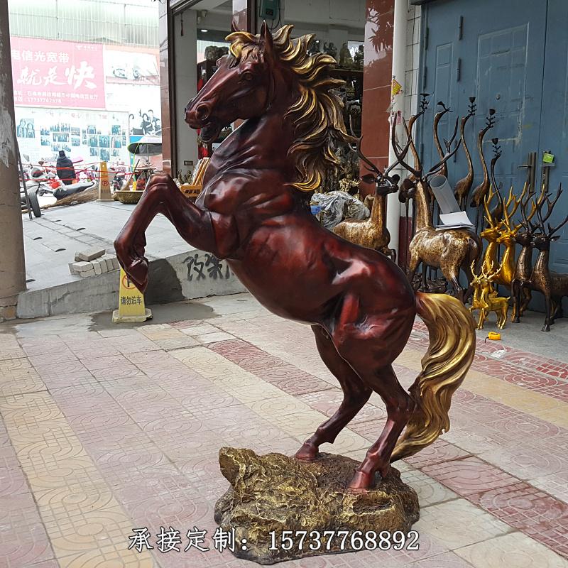 マットの大きいサイズの純銅の馬の成功BMWの最初の干支の馬の銅像は高さ1.5メートルの銅の軍馬をカスタマイズします。