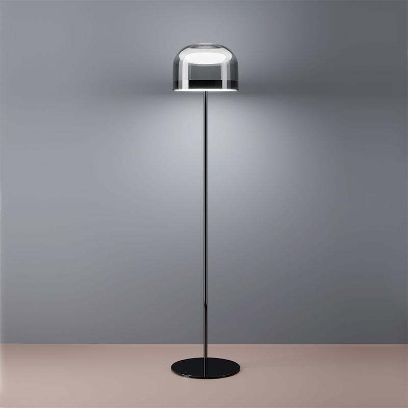轻奢设计师款艺术落地灯高档后现代客厅灯卧室氛围灯饰创意玻璃灯