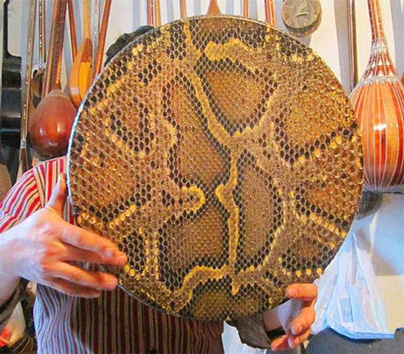 Синьцзян master card дерево играя группа специальный музыкальные инструменты 40CM питон кожа рук барабан ручной работы / бесплатная доставка