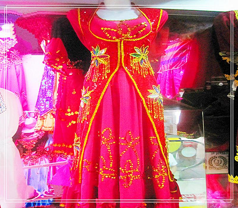 / синьцзян народ характеристика танец одежда народ этап одежда красный размер Я ваш гонка одежда женские модели бесплатная доставка