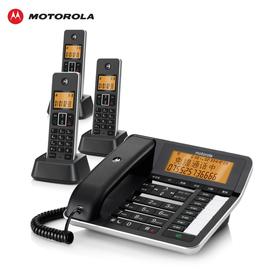 摩托罗拉C7501RC答录电话机 办公家用子母机录音座机一拖三图片