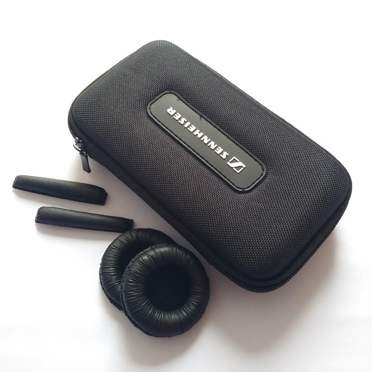 森海塞尔PX80 PX100 PX200 II耳机包收纳盒海绵套皮套头梁垫耳罩