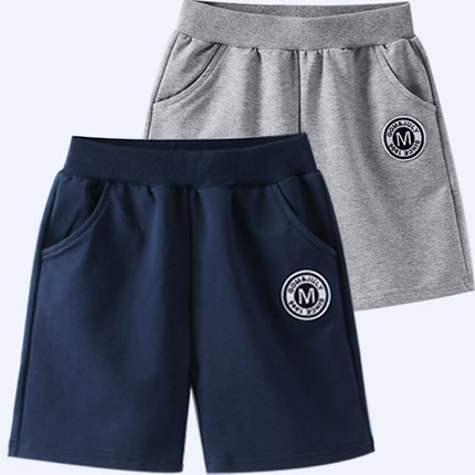 韩版2019夏装新款儿童运动男童短裤