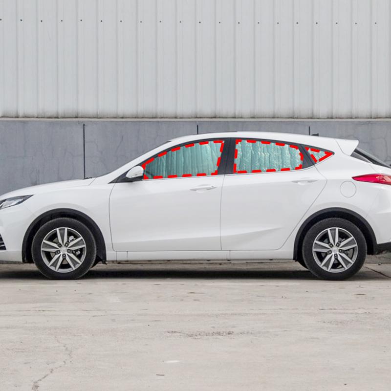長安致尚XT遮陽擋逸動汽車遮陽板6件套車窗前檔側擋防曬隔熱簾