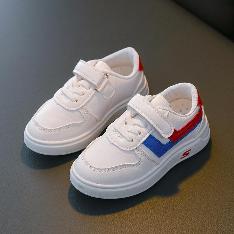 儿童板鞋2020新款春秋男童鞋宝宝单鞋女童运动鞋小白鞋学生休闲鞋