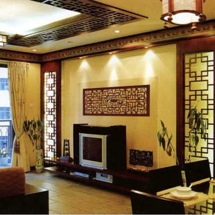 Chinese antique doors Elm Dongyang wood grillwork ceiling partition backdrop entrance backdrop customized