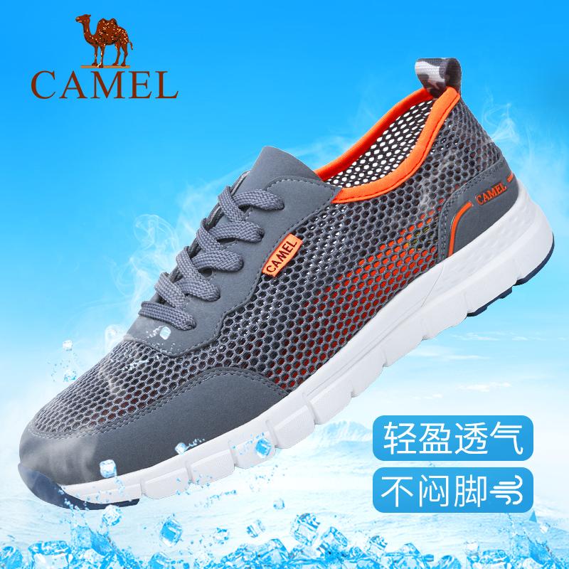 Camel mens shoes summer new deodorant 2021 sports shoes mesh shoes youth breathable mesh shoes mesh mens sandals