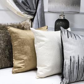 抱枕枕套欧式客厅沙发枕头轻奢靠枕床上护腰现代简约大号靠垫靠背
