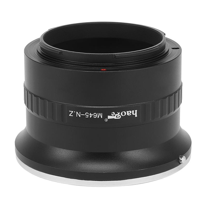 号歌 转接环 M645-Z 玛米亚645镜头转尼康Z6 Z7相机 转接环