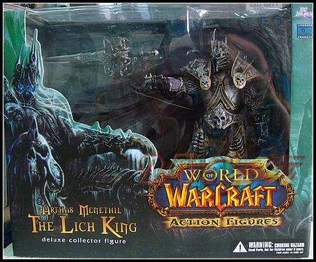 原装正版 魔兽世界 模型手办 DC7代 圣骑士 巫妖王 阿尔萨斯 现货