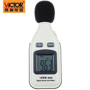 胜利 数字迷你噪音计VC824C声级计 dB分贝仪 噪声音量仪