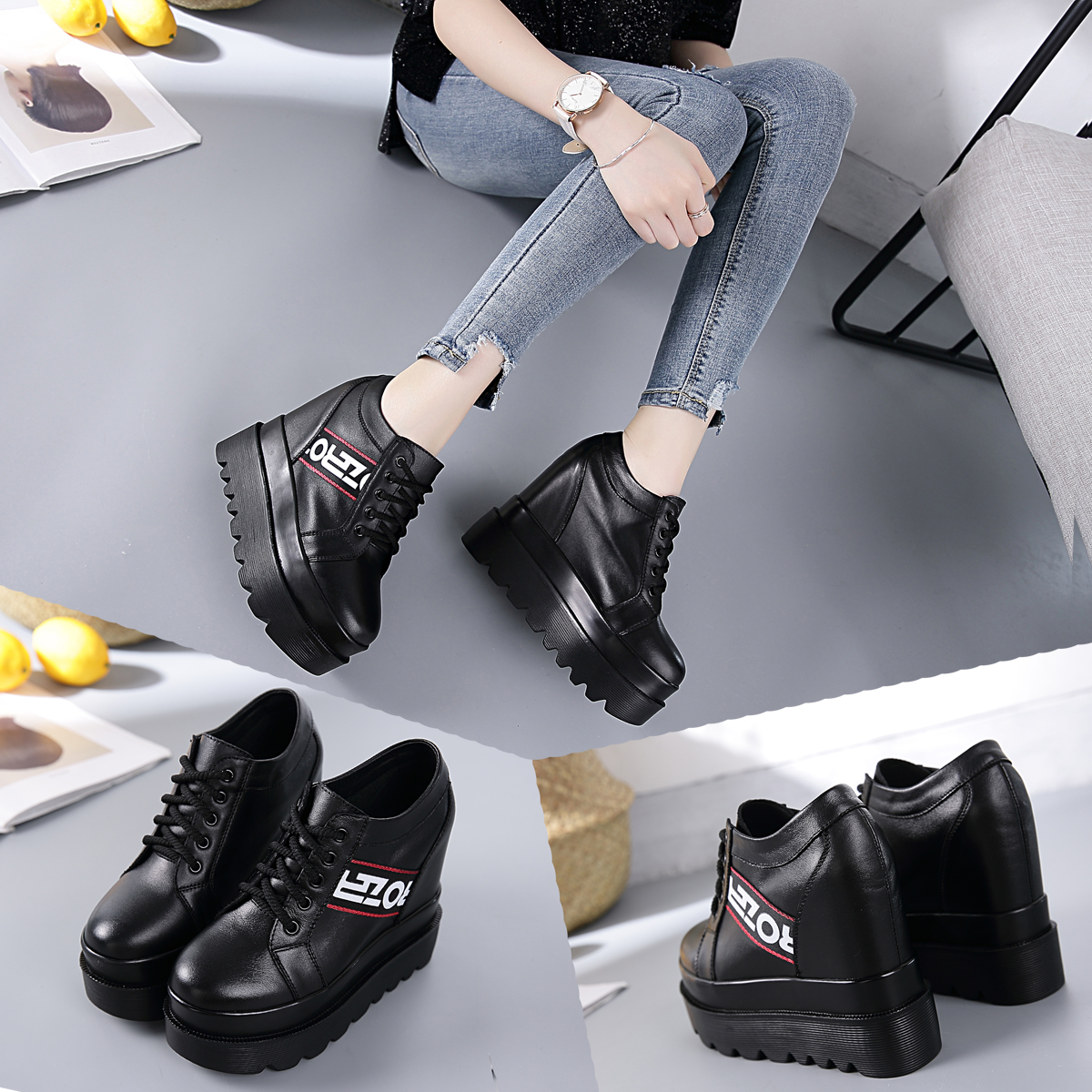 New style walking shoes for women in the autumn of 2018